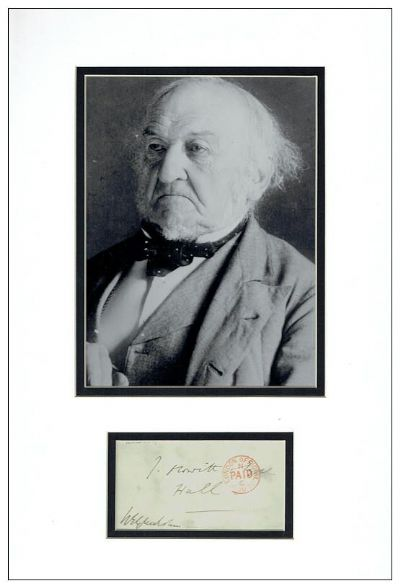 William Gladstone Autograph Signed Envelope